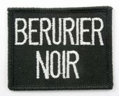 Berurier Noir - 'Name' Vintage Embroidered Patch